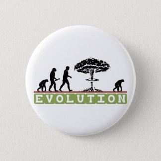 Evolution Funny Evolve 6 Cm Round Badge