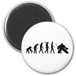 Evolution Goalie Hockey Magnet