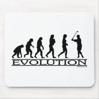 Evolution - Golf- Female Mouse Pad