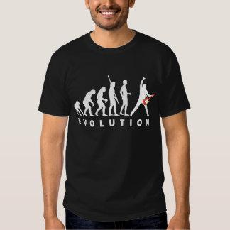 evolution guitar more player tshirts