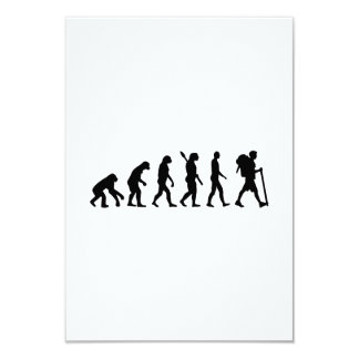 Evolution Hiking Card
