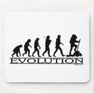 Evolution - Hiking Mouse Pad