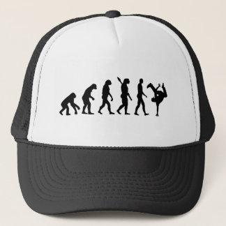 Evolution hip hop trucker hat