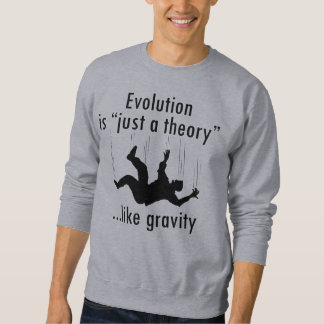 Evolution Is Just A Theory Sweatshirt