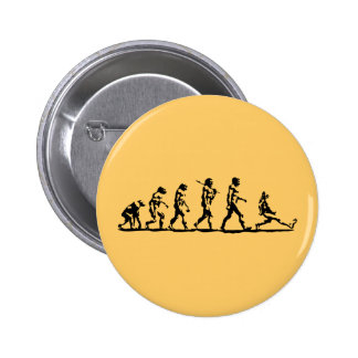 Evolution is Natural 6 Cm Round Badge