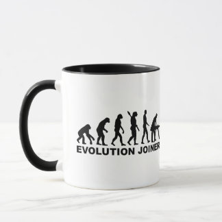 Evolution joiner mug