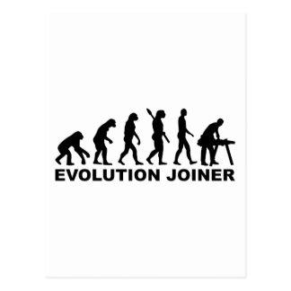 Evolution joiner postcard