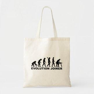 Evolution joiner tote bag