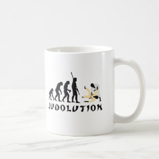 evolution Judo Coffee Mug
