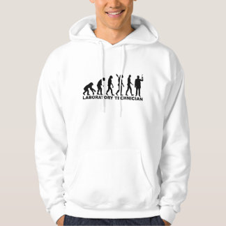 Evolution laboratory technician hoodie