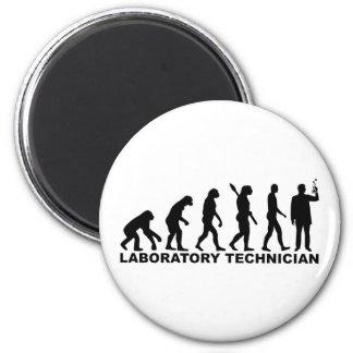 Evolution laboratory technician magnet