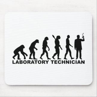 Evolution laboratory technician mouse pad