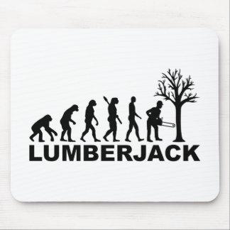 Evolution lumberjack mouse pad