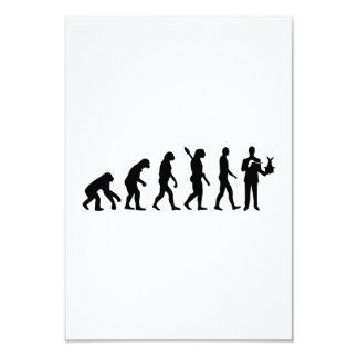 Evolution Magician 9 Cm X 13 Cm Invitation Card