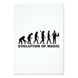 Evolution Magician Card