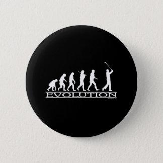 Evolution - Man - Golf 6 Cm Round Badge