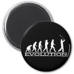 Evolution - Man - Golf Fridge Magnets