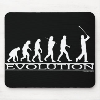Evolution - Man - Golf Mouse Pad