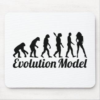 Evolution model mouse pad