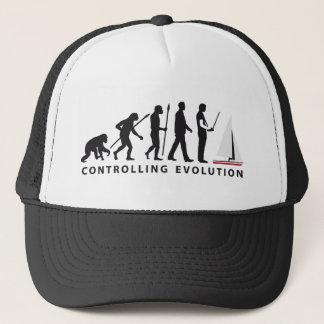 Evolution modelling ship boat trucker hat