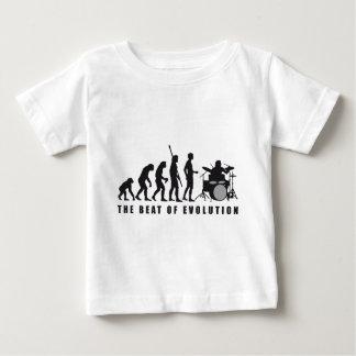 evolution more drummer tee shirt