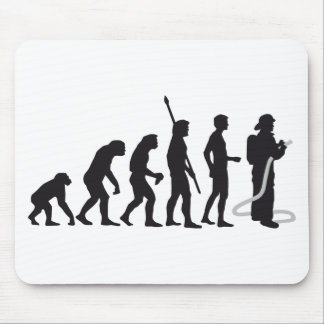 evolution more firefighter mouse pad