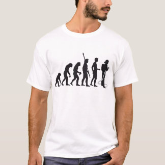 evolution more firefighter T-Shirt