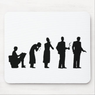 evolution mouse pad