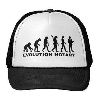 Evolution notary cap