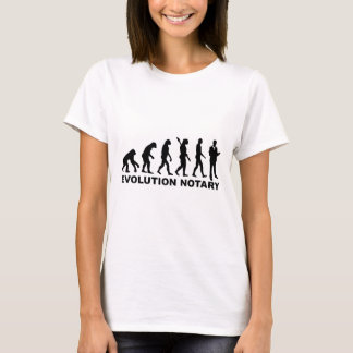 Evolution notary T-Shirt