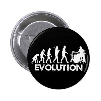 Evolution of a Drummer 6 Cm Round Badge