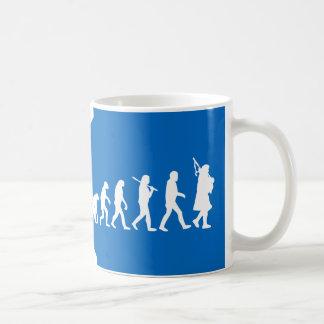 Evolution of a Scotsman Mug