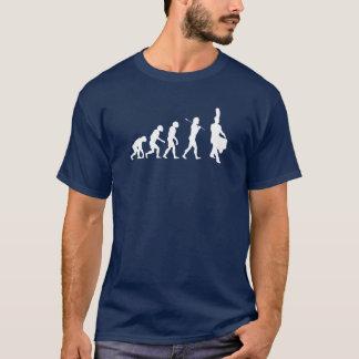 Evolution of a Snare Drummer (dark colors) T-Shirt