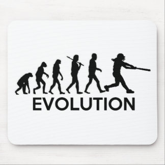 Evolution of a Softball Player Mouse Pad