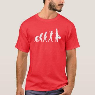 Evolution of a Tenor Drummer (dark colors) T-Shirt