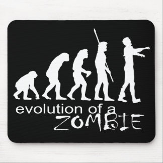 evolution of a zombie mouse pad