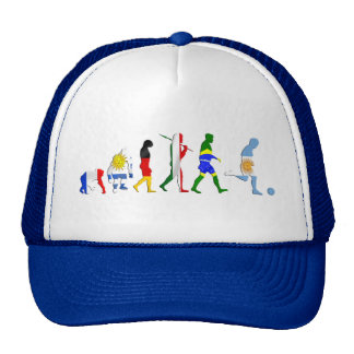 Evolution of Argentinian soccer Argentina futbol Mesh Hat
