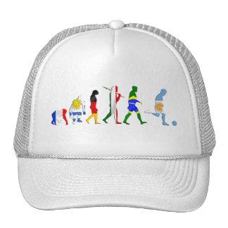 Evolution of Argentinian soccer Argentina futbol Mesh Hats
