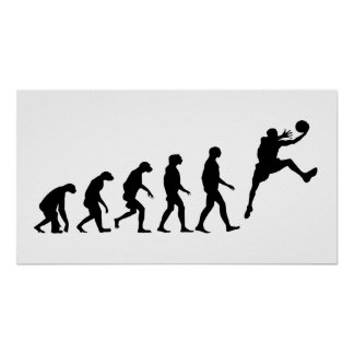 Evolution of Basketball Poster