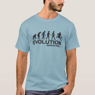 EVOLUTION of BASKETBALL sport NBA funny t-shirt