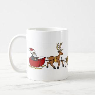 Evolution of Christmas Basic White Mug