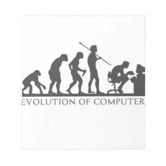 EVOlution OF COMPUTER Notepad