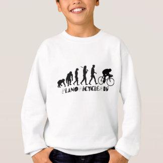 Evolution of Cycling Arty Logo Plano Texas Gear Sweatshirt