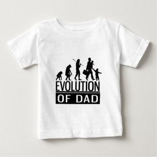 evolution of dad baby T-Shirt