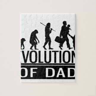 evolution of dad jigsaw puzzle