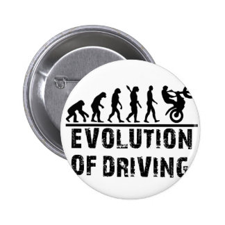 Evolution Of driving 6 Cm Round Badge