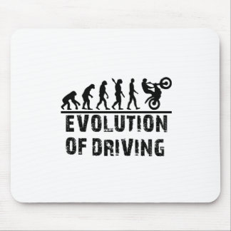 Evolution Of driving Mouse Pad