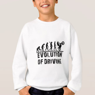 Evolution Of driving Sweatshirt