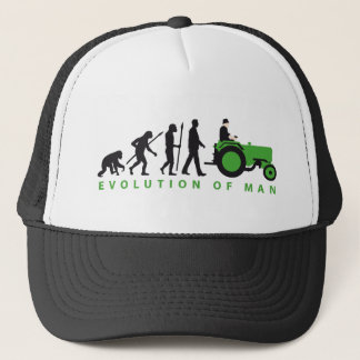 evolution OF far MER with tractor Trucker Hat