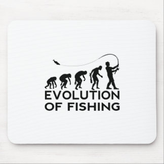 evolution of fishing mouse pad